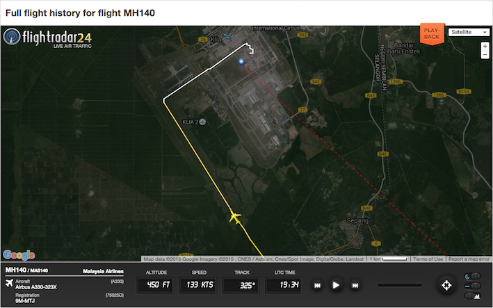 158c Screen Shot 2015-12-27 at 6.28.32 AM 0634h Touch Down Runway 33