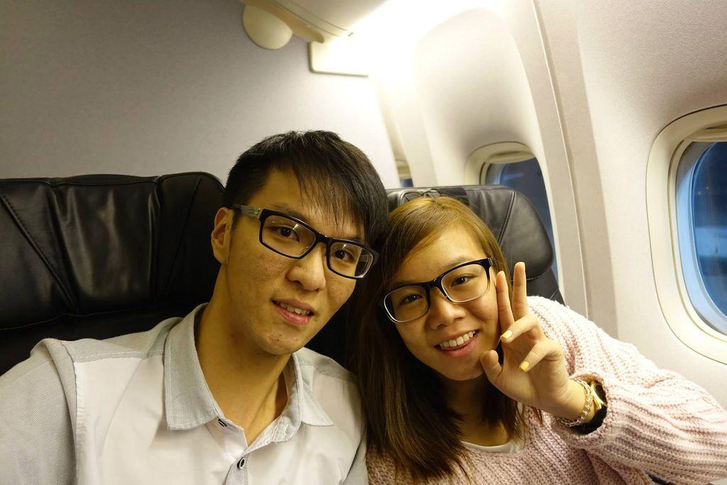 0511 DSC05841 Arrived at Taipei (0431 captain's PA for landing ETA 5am 0445 descent (seat belts sign on) 0504 landed at TPE 0509 arrived at gate C1)