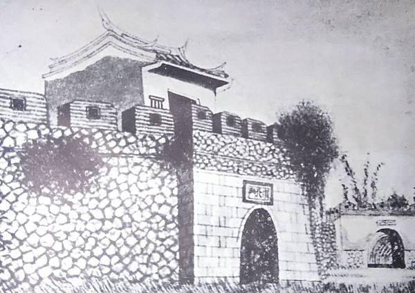 民國六十年市民蘇孝達重繪 「小北門」之明信片.jpg
