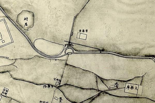 1875年間〈臺灣府城街道圖〉.jpg