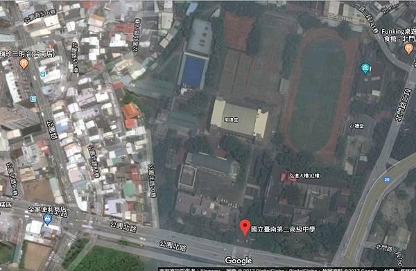 北壇義塚舊址約今公園北路之北側,臺南二中之西側一帶.jpg