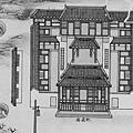 ﹤重修臺郡各建築圖說﹥書影中的北壇義塚及地藏廟.jpg
