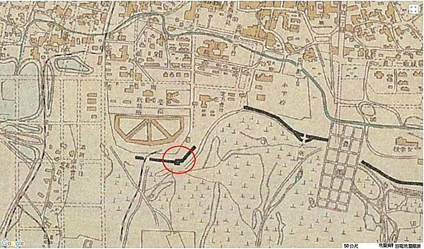 圖A-5 西元1922年﹤臺南市全圖﹥(臺南刑務所南側).jpg