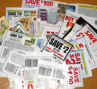coupon-spread-on-table