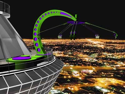 Stratosphere-tower-A-Night-view