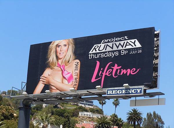 Project Runway season9 billboard