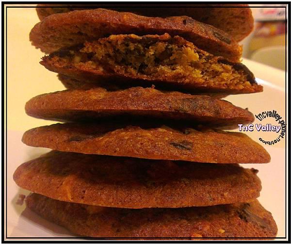 banana cookies 020