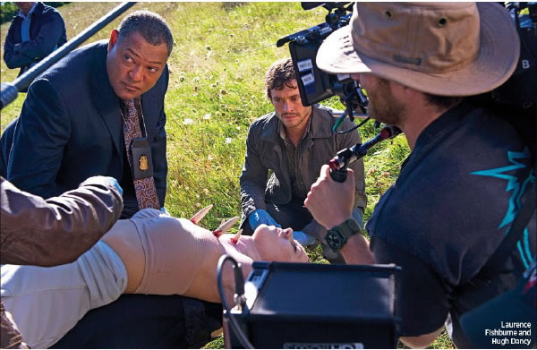 hannibal-tv-lawrence-fisburne-hugh-dancy-set-photo