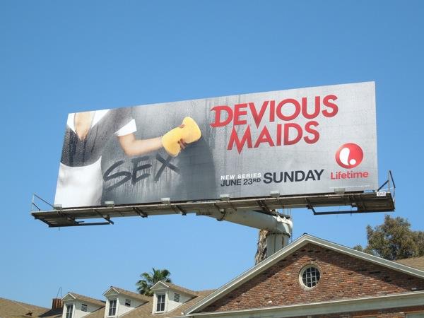 devious maids sex billboard