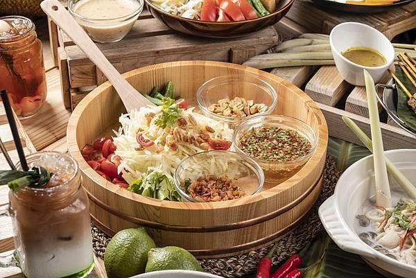 元素餐廳_東南亞美食節_青木瓜沙拉.jpg
