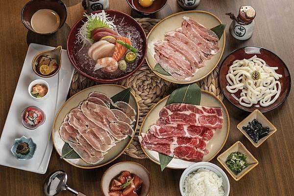 煉‧瓦_壽喜燒三種肉類.jpg