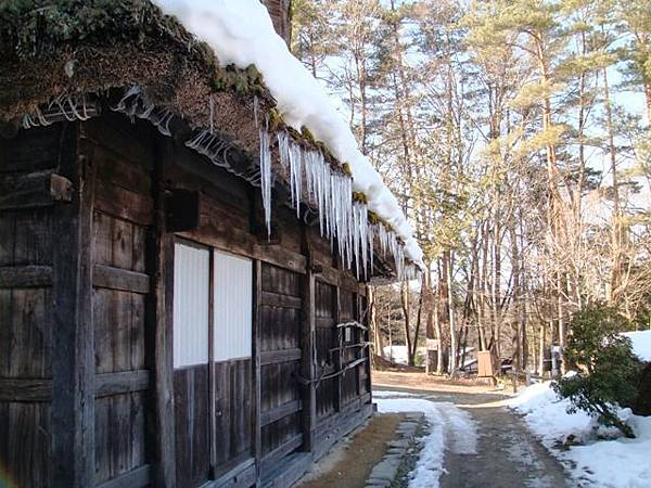 318.飛驒的里雪地裡結冰的合掌屋.JPG