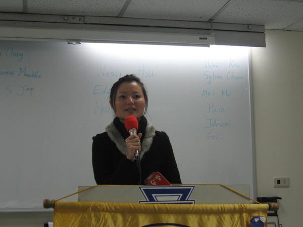 I.E- Sylvia Chen from U-SWOT Club