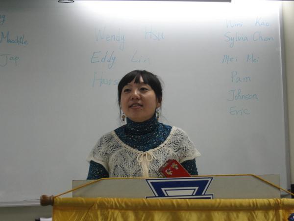 President- Nora Liu