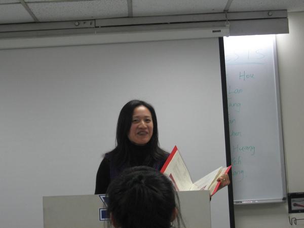 Our old friend - Gloria Kao