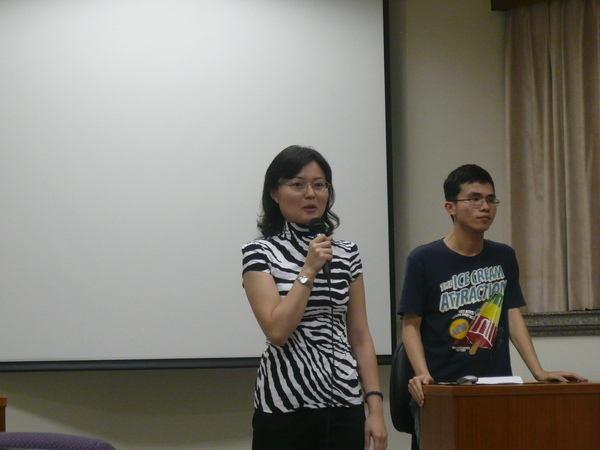 07 Guest from U-SWOT Toastmasters Club - VPE Sylvia Chen.JPG