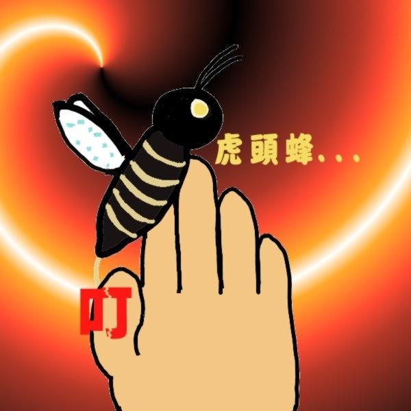 被虎頭蜂咬...jpg