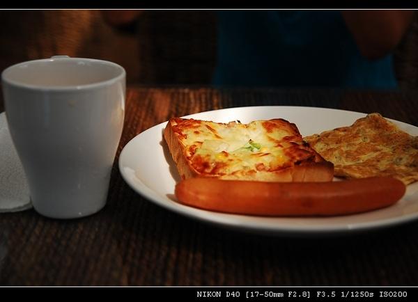 悠閒的早餐時光