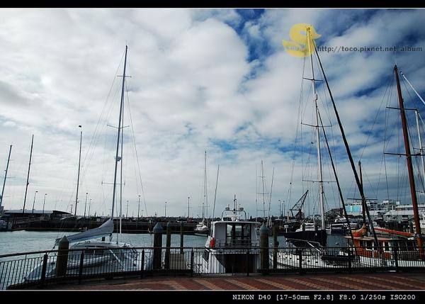 我喜歡港口的遊艇