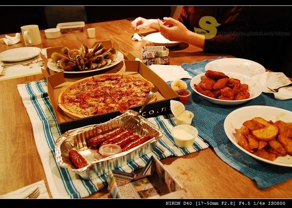 晚上吃地獄披薩系列