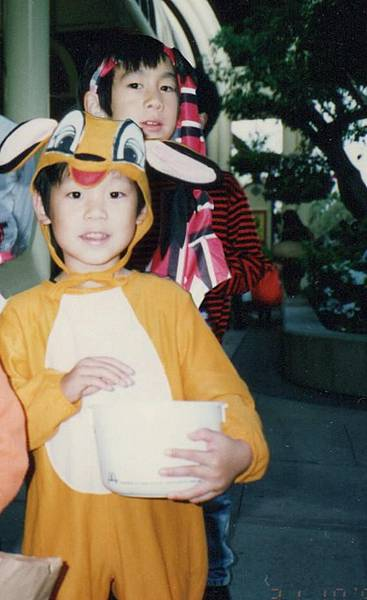jeremy in bambi constume