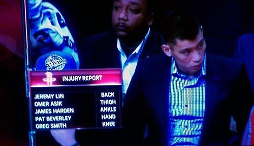 Jlin injuries