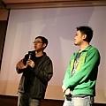 導演林書宇(左),剪接師林雍益(右)