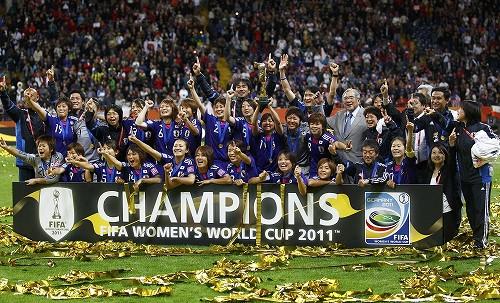 恭賀日本在世界盃女子足球奪冠