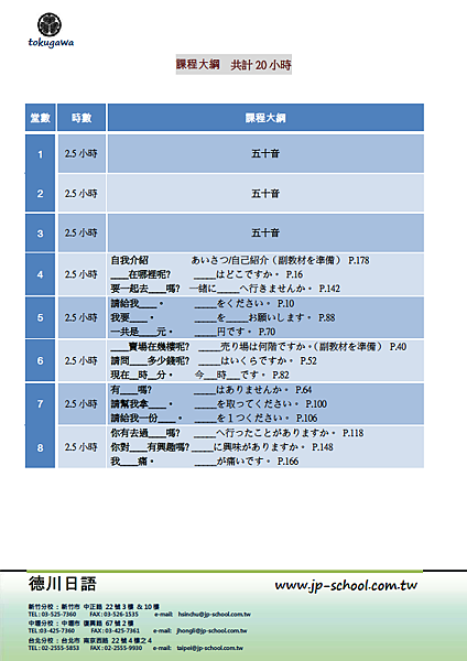 2013寒假班大綱