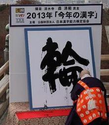 2013日本年度漢字