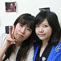 兩位美人(左:遠藤先生,右:azusa)