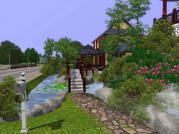 從這小徑上橋進入怡暢園.jpg