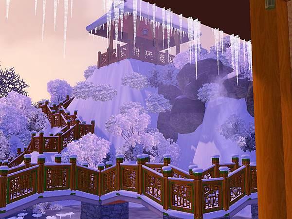 雪中晴天積雪美景.jpg