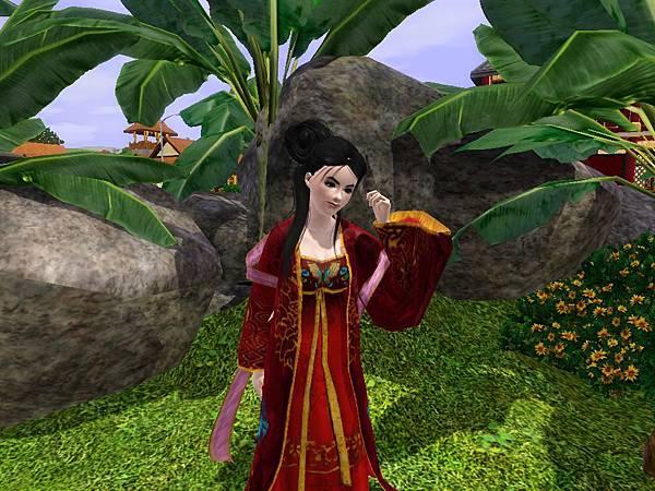芭蕉樹和菊花,你看開的多水~.jpg