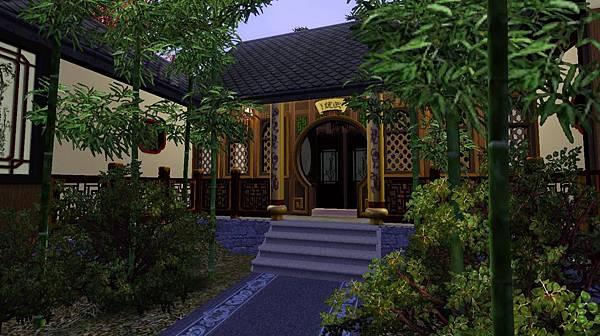 ㄚ頭房前兩側皆有竹.jpg