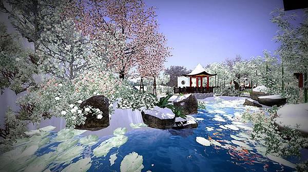後院初春雪景.jpg