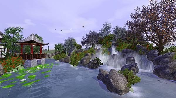 與近瀑亭成對景,大山瀑布非常壯觀.jpg
