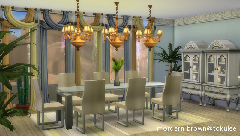 mordern brown dinnerroom.jpg