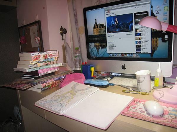 房間書桌之雜物