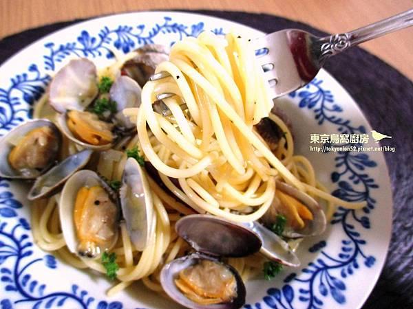 白酒蛤蜊義大利麵2
