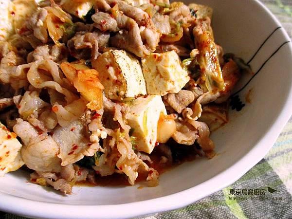 泡菜豬肉豆腐