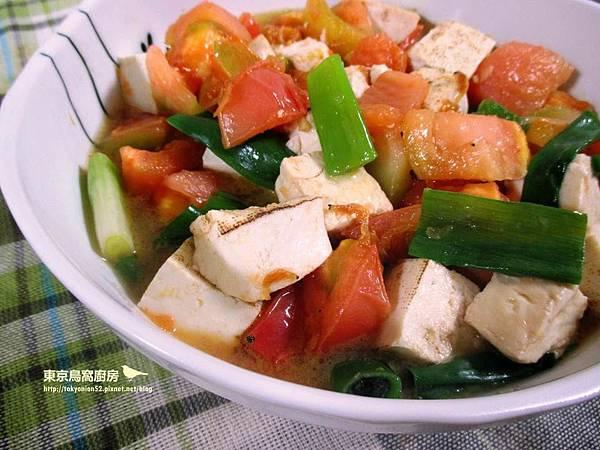 番茄燴豆腐