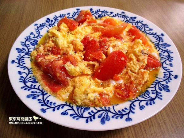 蝦香番茄炒蛋
