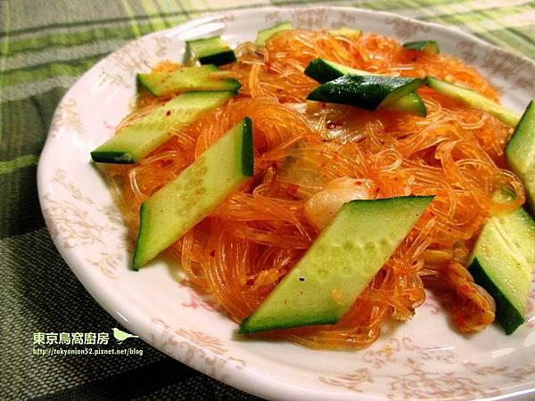 小黃瓜泡菜冬粉