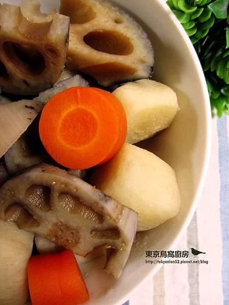 里芋蓮藕煮物