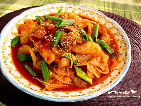 韓式黃豆芽燉五花肉