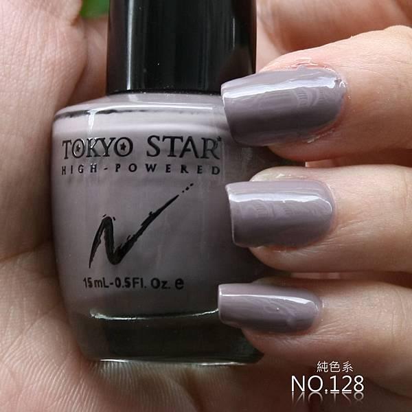 TOKYO STAR純色指甲油128號