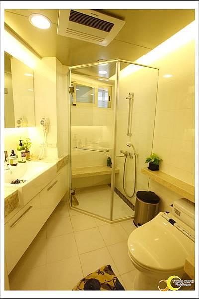 給貴賓使用的淋浴間、乾溼分離