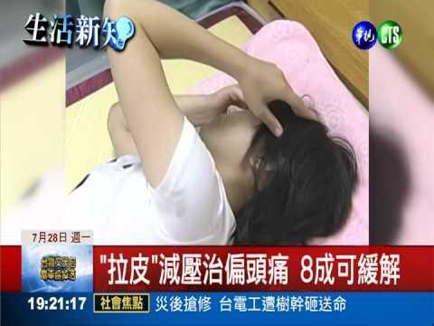 拉皮可減緩頭痛症狀