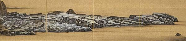 梁震明 龍洞之歌 109x24cm 2011